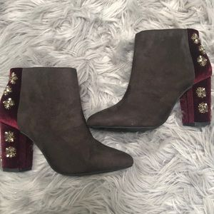 Gorgeous Jewel Booties by Faryl Robin